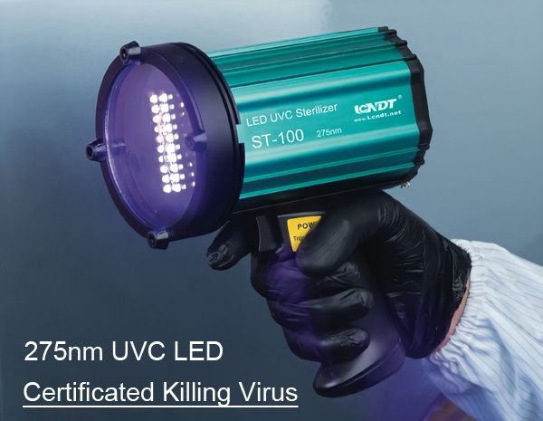 LED UVC 275nm sterilizer battery powered – ST-100